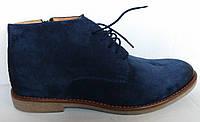 Зимние замшевые ботинки Tapi 2170
