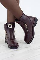Donna M ботинки RS 1721 кожа/байка