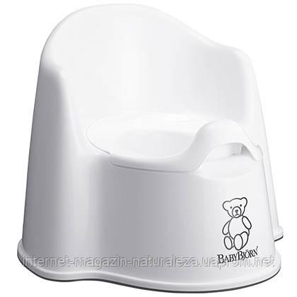 Детский горшок BabyBjorn белый, фото 2