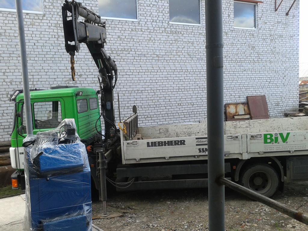 Отгрузка котла Thermotehnik 35 кВт клиенту пгт Покотиловка,дом