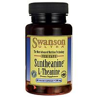 L-Тианин, Suntheanine L-Theanine, Swanson, 100 мг, 60 капсул