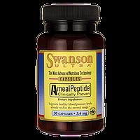 Амил-пептиды, AmealPeptide, Swanson, 3.4 мг, 30 капсул