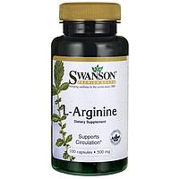 L-Arginine, 500 mg 100 Caps