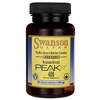 Аденозин Трифосфат, Maximum Strength Peak ATP 400, Swanson, 400 мг, 30 капсул