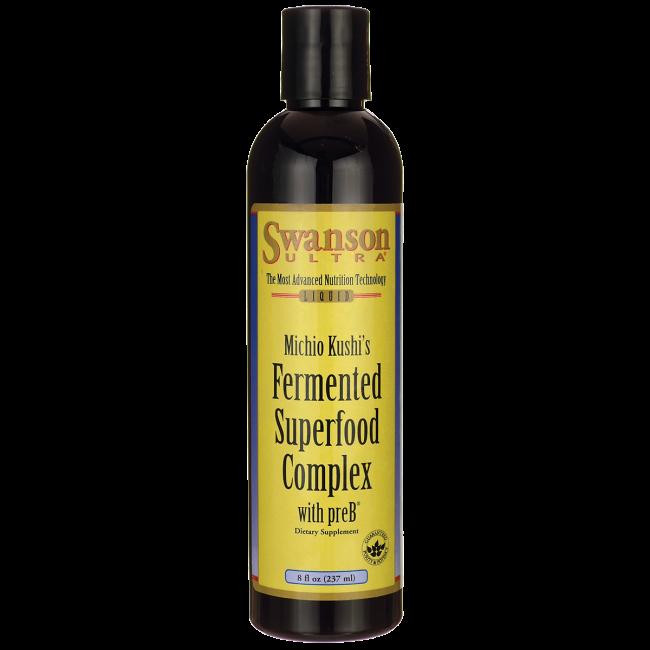 Fermented Superfood Complex with preB, Swanson, 8 fl oz (237 мл) жидкий