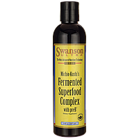 Fermented Superfood Complex with preB, Swanson, 8 fl oz (237 мл) жидкий