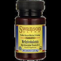 Methylcobalamin High Absorption B-12, 2.5 mg 60 Tabs