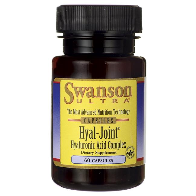 Комплекс Гиалуроновой кислоты, Hyal-Joint Hyaluronic Acid Complex, Swanson, 33 мг, 60 капсул