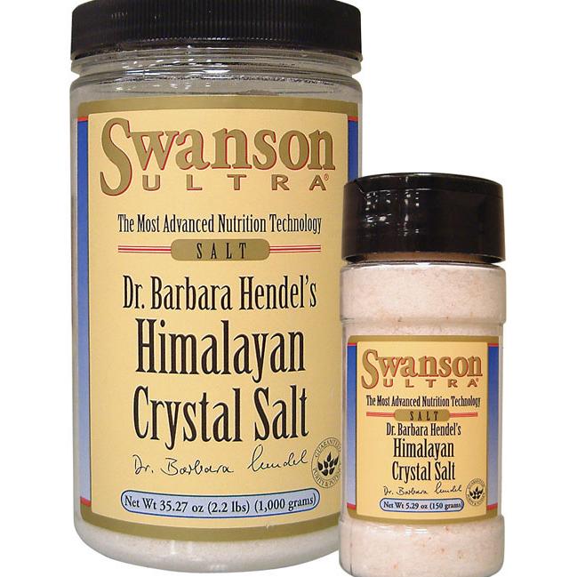 Гималайская кристалличекская соль, Himalayan Crystal Salt Combo, Swanson, 1 Kit