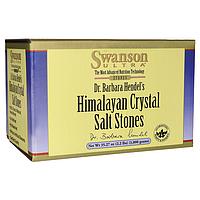 Камни кристаллической гималайской соли, Himalayan Crystal Salt Stones, Swanson, 35.27 oz (1.000 грамм) Pkg