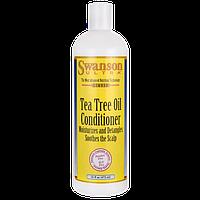 Кондиционер с маслом чайного дерева, Tea Tree Oil Conditioner, Swanson, 16 fl oz (473 мл) жидкий
