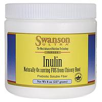 Инулин в порошке, Inulin Powder, Swanson, 8 oz (227 грамм) порошок