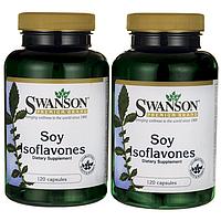 Соевые изофлавоны, Soy Isoflavones, Swanson, 240 капсул
