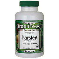 Parsley, Swanson, 650 мг, 90 капсул