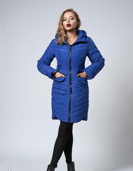 Удлиненная женская куртка - оптово - розничный интернет - магазин