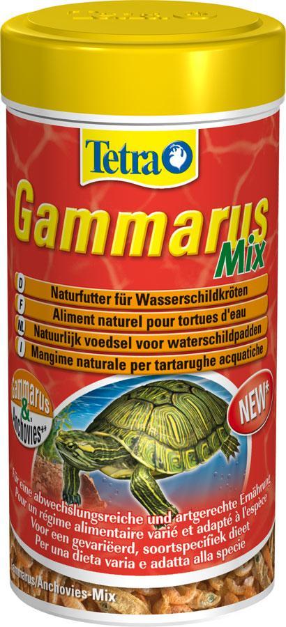 Корм Tetra Gammarus Mix для черепах, 250 мл - Интернет-зоомагазин Royal Zoo в Харькове