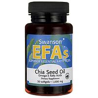 Chia Seed Oil, 1,000 mg 30 Sgels
