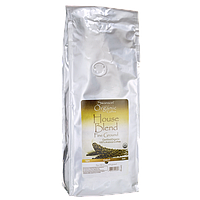 House Blend Fine Ground Organic Coffee - Medium, Swanson, 1 lb (454 грамм) Pkg