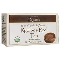 100% Certified Organic Rooibos Red Tea, Swanson, 20 Bag(s)
