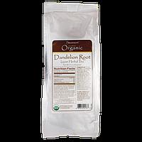 Certified Organic Dandelion Root Loose Herbal Tea, Swanson, 3.5 oz (100 грамм) Pkg