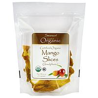 Certified Organic Mango Slices, Unsulfured, Swanson, 6 oz (170 грамм) Pkg