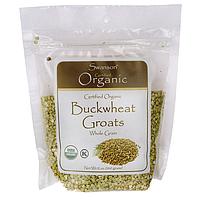SALE, Certified Organic Buckwheat Groats, Swanson, 12 oz (340 грамм) Pkg