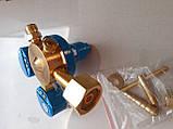 Редуктор с манометром кислородный БКО-50-5 (25 МПа) Точ.Прибор алюминий, фото 4