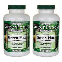 Green Max, Swanson, 360 капсул
