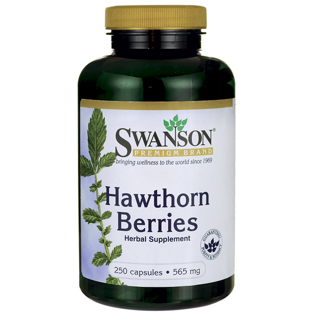 Hawthorn Berries, Swanson, 565 мг, 250 капсул