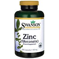 Zinc (Gluconate), 50 mg 250 Caps