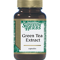 Green Tea Extract (Standardized), Swanson, 200 мг, 120 капсул