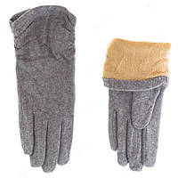 Теплые элегантные  перчатки женские ПЖ1247