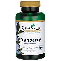 Клюква, Cranberry, Swanson, 180 капсул