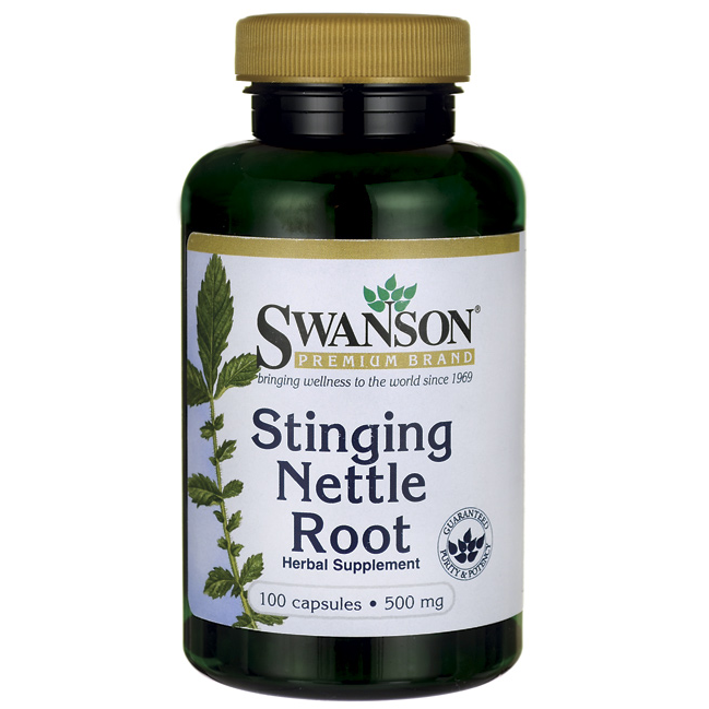 Stinging Nettle Root, Swanson, 500 мг, 100 капсул