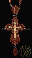 Крест наперсный наградной №12 (красное дерево)