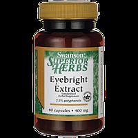 Eyebright Extract, Swanson, 400 мг, 60 капсул