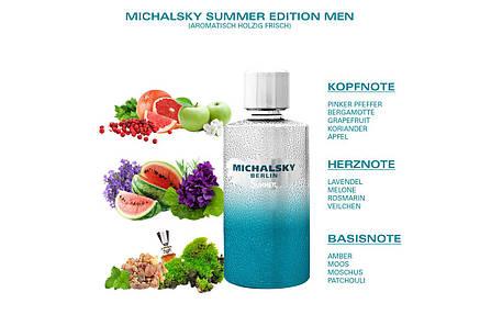 Туалетная вода Michalsky Summer men 50 ml, фото 2