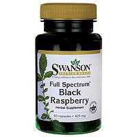 Черная Малина, Full Spectrum Black Raspberry, Swanson, 425 мг, 60 капсул