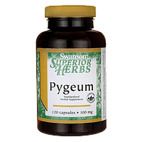 Pygeum (Standardized), Swanson, 100 мг, 120 капсул