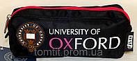 """Пенал Оксфорд (модель 530812), черный с розовым, ТМ """" YES!"""""""
