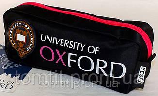 """Пенал Оксфорд (модель 530812), черный с розовым, ТМ """" YES!"""", фото 2"""