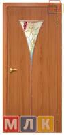 ОМИС Двери ламинированные пленкой ПВХ Модельная дверь Рюмка 2 СС+ФП, 2000*600*34 мм