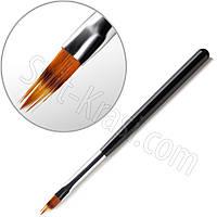 Кисть для градиента, омбре пластмассовая ручка