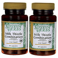 Формула Расторопши, Milk Thistle Combination, Swanson, 120 капсул