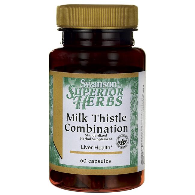 Формула Расторопши, Milk Thistle Combination, Swanson, 60 капсул