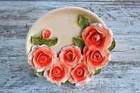 Декоративное панно с розами