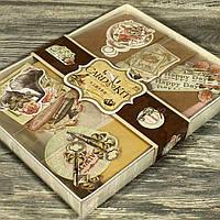 Набор скрапбукинга для изготовления 6-ти открыток с конвертами 21648-23/24
