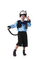 Детский костюм Черный кот, рост 115-125 см