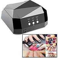 Лампа для сушки и наращивания ногтей Beauty nail CCF + LED