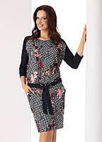 Женское трикотажное платье с длинным рукавом. Модель Tatiana Top-Bis, коллекция осень-зима 2017-2018
